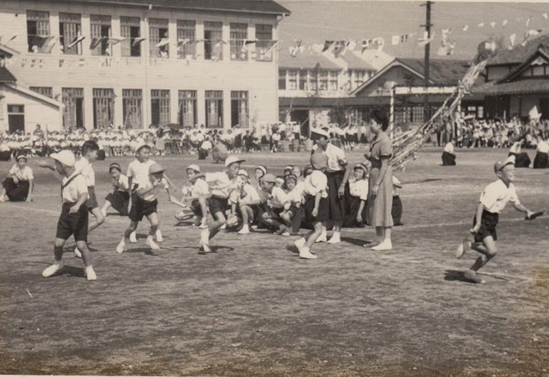1955 昭和30年度 秋季大運動会 リレー 横須賀