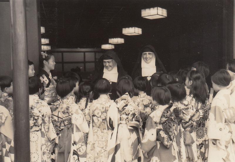 1959 昭和34年度 聖心侍女修道会来朝銀祝の日(25周年)