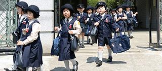 清泉小学校の一日